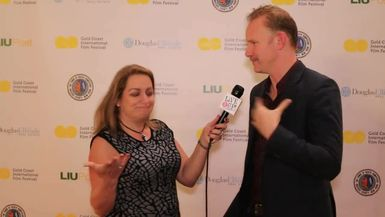 Morgan Spurlock visits Live it Up with Donna Drake at the Gold Coast International Film Festival