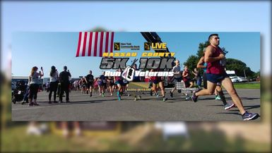Nassau County 5K-10K Run for Veterans-Live it Up (Promo)