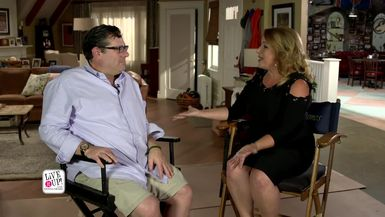 "Live it Up with Donna Drake with Andy Fickman, Director - ""KEVIN CAN WAIT"""