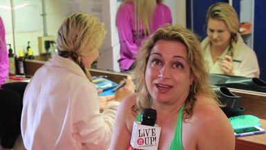 World famous Weeki Wachee Mermaids Swim on Live it Up with Donna Drake