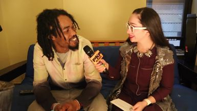 FREDDY HARRIS III talks STEEL DRUMS PaNs w  PAVLINA in NYC