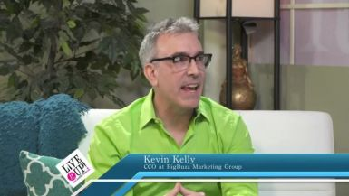The Buzz Bubble: Personal Branding - Kevin Kelly on Live it Up! with Donna Drake
