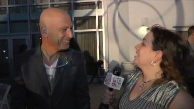 Howie Mandel on Live It Up with Donna Drake TV Show at NATPE