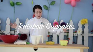 Rainbow Cupcakes with Chef Hannah