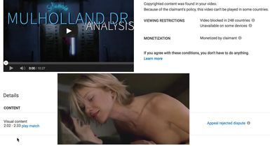 Mulholland Drive Analysis (RE-UPLOAD for Copyright)