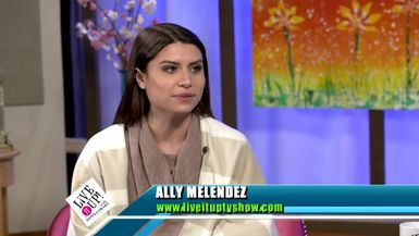 Live it Up with Donna Drake visits with Ally Melendez