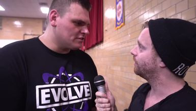 EVOLVE-ing: Chatting with International Wrestling Sensation WALTER