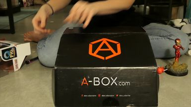 Geek Girl Review: A-Box Subscription Box Versus Edition