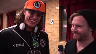 Riddle Me This: A Conversation with Matt Riddle
