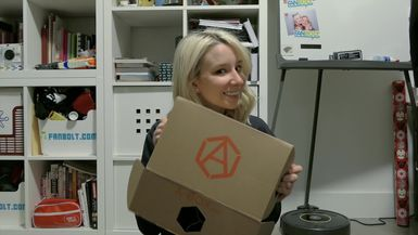 Geek Girl Review: A-BOX Subscription Justice Edition
