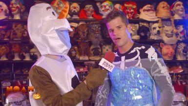 Charlie Carver of Teen Wolf & Noah Go Halloween Costume Shopping!